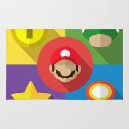 Super Mario flat Rug