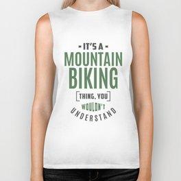 Mountain Biking Thing Biker Tank