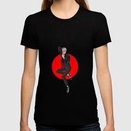 Jeff Goldblum pin up T-shirt