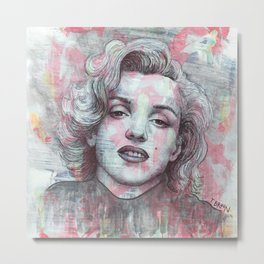 Marilyn - Give A Girl The Right Pair Of Shoes And She'll Conquer The World Metal Print