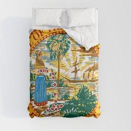 Florida State Seal Comforters