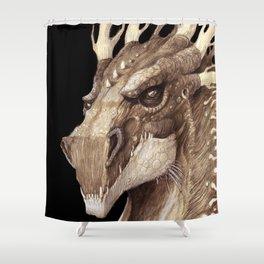 Dragon Portrait Shower Curtain