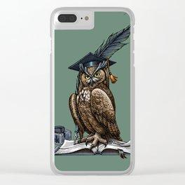 Genius owl Clear iPhone Case