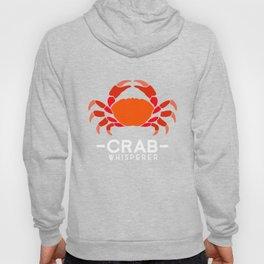 Crab Whisperer Fishing Sea Ocean Fisher Crabulous Design Hoody
