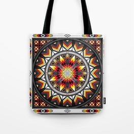 Sacred Places Red Tote Bag