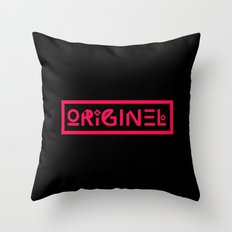 Originel rouge Throw Pillow