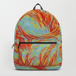 Fires of Life Dancing Flames Backpack