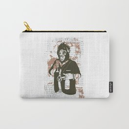 drinking, beer, vintage animal big Carry-All Pouch