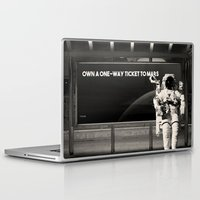astronaut Laptop & iPad Skins featuring Astronaut by eARTh