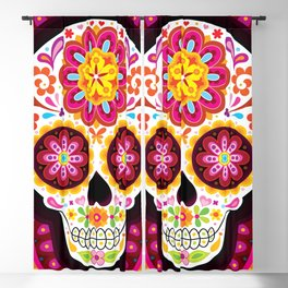 Sugar Skull (Mesmerize) Blackout Curtain