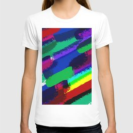 Colorful ink T-shirt