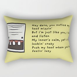 Intercom Rectangular Pillow