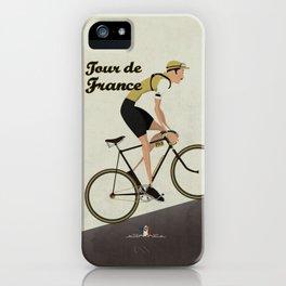 Tour De France Cycling Grand Tour iPhone Case