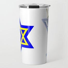 Jews Booze and Brews Travel Mug