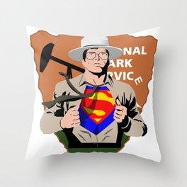 Park Ranger resist Throw Pillow