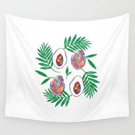papaya Wall Tapestry