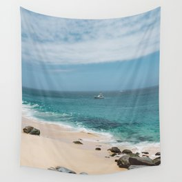 Cabo Boat Wall Tapestry