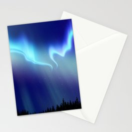 Aurora Synthwave #14 Stationery Cards