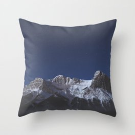 Canmore, AB Throw Pillow