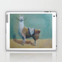 Dali Llama Funny Mustache Melted Clock Salvador Dadaism Laptop & iPad Skin
