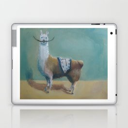 Dali Llama Funny Mustache Melted Clock Salvador Dadaism Laptop & iPad Skin