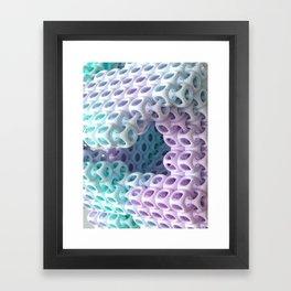 Interlokt Framed Art Print