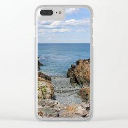 Marginal Way/Maine's Rocky Coast Clear iPhone Case