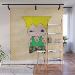 A Boy - Guile Wall Mural