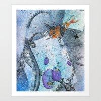 Fish Eggs Art Print