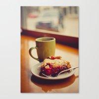 pie Canvas Prints featuring Pie by Jo Bekah Photography