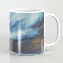 Rain at Sea Coffee Mug