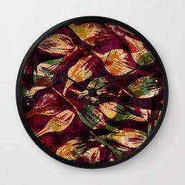 Tassel Sedge Wall Clock