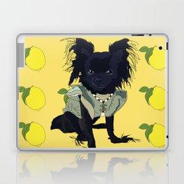 When life gives you lemons, be fabulous!  Chihuahua Laptop & iPad Skin
