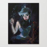 the legend of korra Canvas Prints featuring Korra by Sophie'sCorner