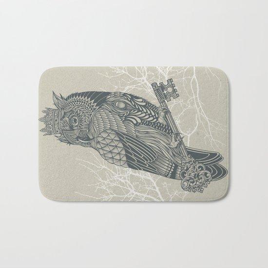 Owl King Bath Mat