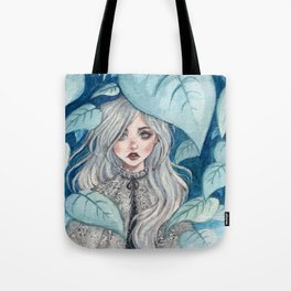 Silver Forest Tote Bag