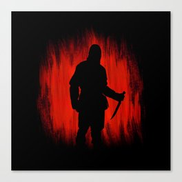 The assassin rippers bloody sunday Canvas Print