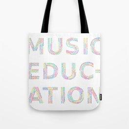 Music Education Tote Bag