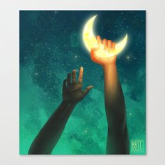 A Moon Has Always Meant Canvas Print