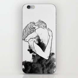 Till the last star you have me. iPhone Skin