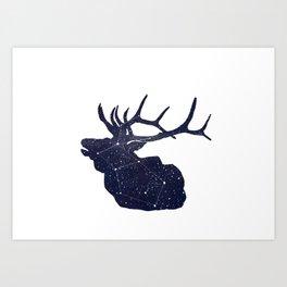 Elkstellation Art Print