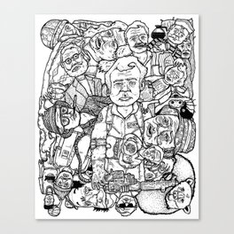 Murray Pile-Up Canvas Print