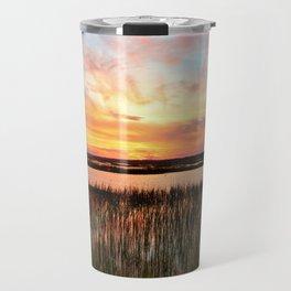 Sunset And Reflections Travel Mug