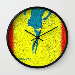 Woman Emerging (i) Wall Clock