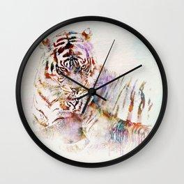 Tigress with Cub Wall Clock