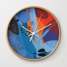 Drops II Wall Clock