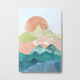 The spring mountains Metal Print