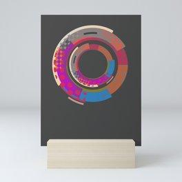 magic roundabout Mini Art Print