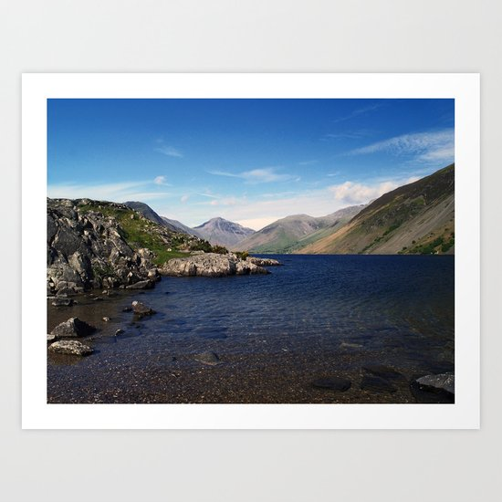 Wast Water Art Print