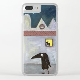 city of cats Clear iPhone Case